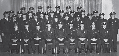 Black & white photo - APD graduating class