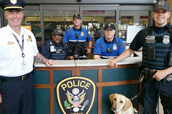 APD Officers at Boston South Station