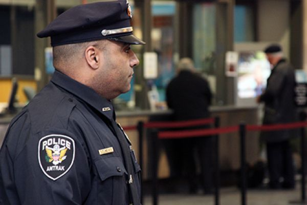 APD Officer at Providence Station