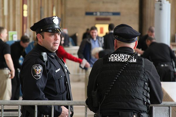 APD Officer 30th Street Station