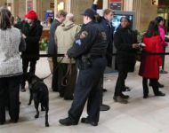 APD K-9 Officer at 30th Street Station